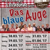 """""""Das blaue Auge"""" - Lustspiel in 3 Akten"""