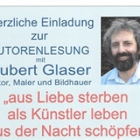 Autorenlesung mit Hubert Glaser
