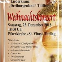 Weihnachtskonzert des Liederkranzes